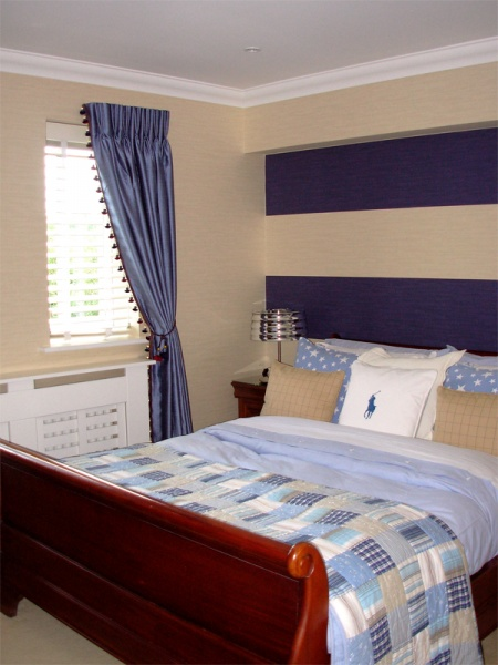 Guest bedroom forest row imogen whyte for Interior design 07760