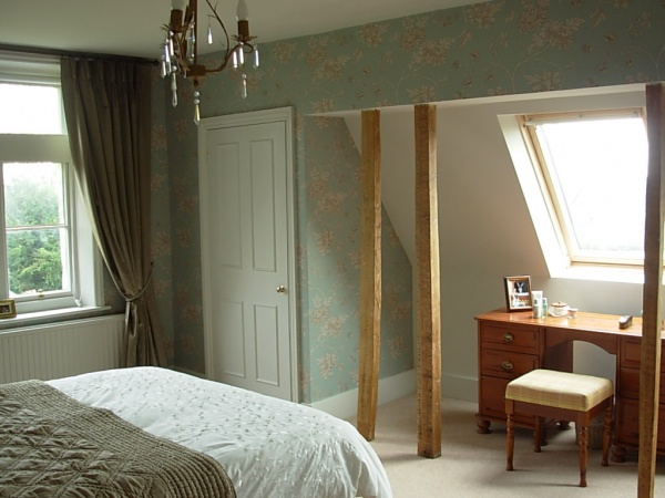 Guest bedroom hadlow down imogen whyte for Interior design 07760