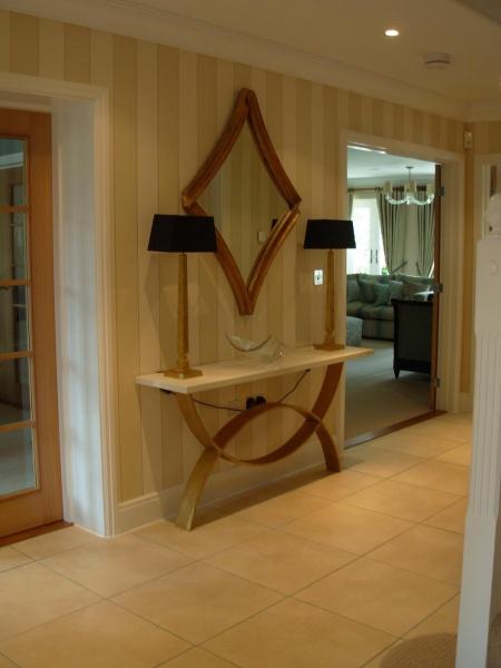 Hallway forest row imogen whyte for Interior design 07760