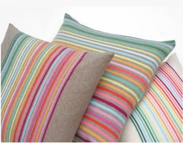 luxuriously soft cushions from Row Pinto